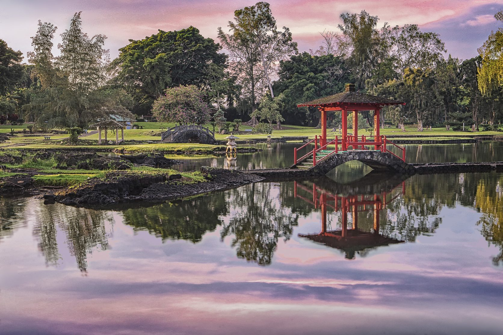 Liliuokalani Gardens  Hilo Big Island Hawaii Location big island photographer